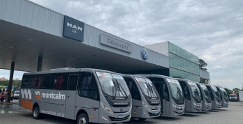 Novos ônibus Montcalm